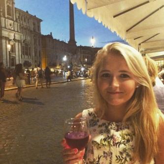 Meg in Piazza Navona