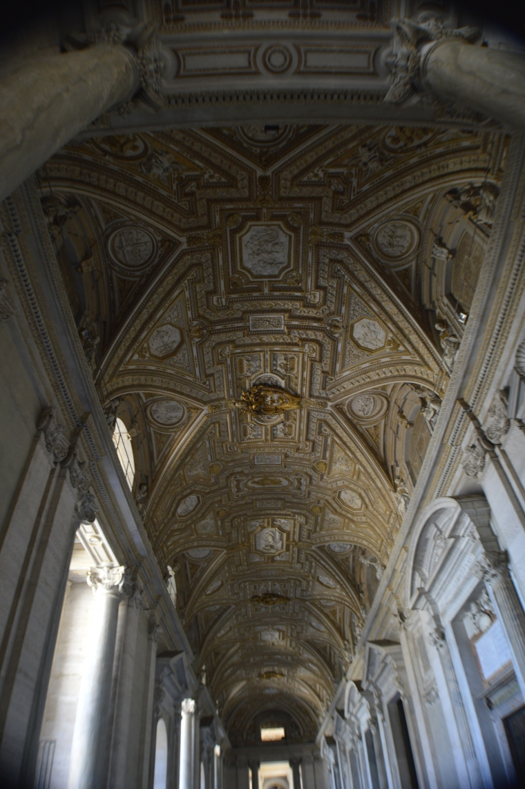 St Peter basilica ceiling