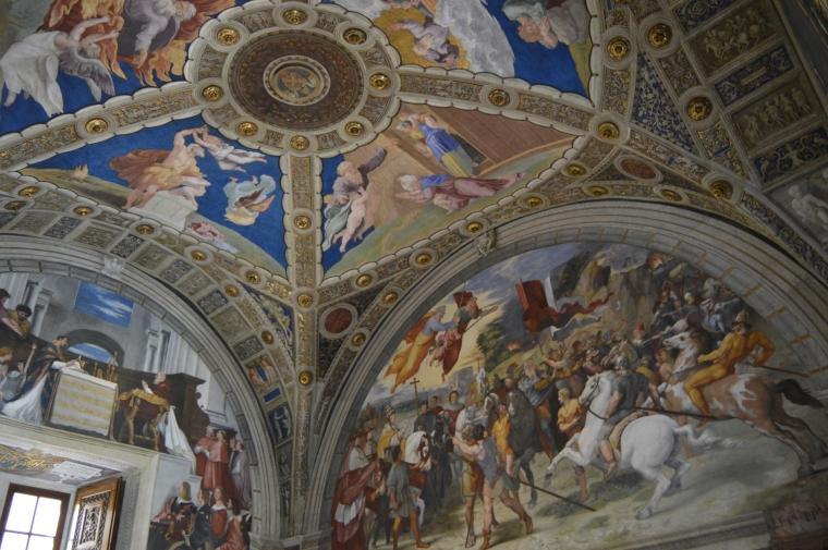 Vatican Museum ceiling 2