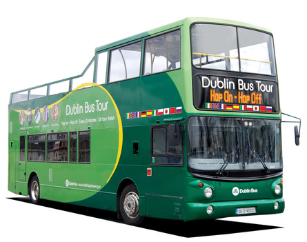 dublin green bus